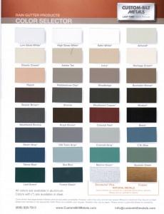 Custom Bilt Colors Addi Continuous Gutters Salem